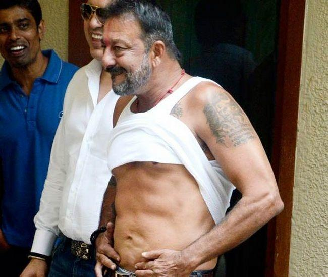 sanjay dutt workout