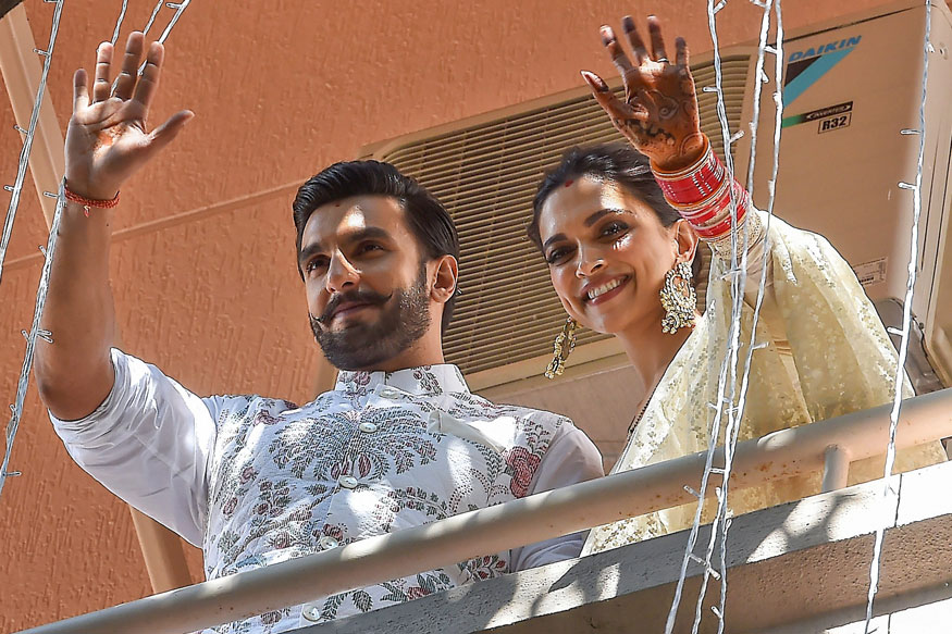Deepika ranveer Wedding/ Reception pics photos