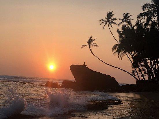 Sunset at Dalawella