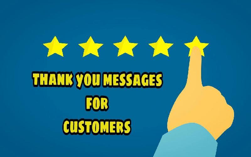customers appreciation
